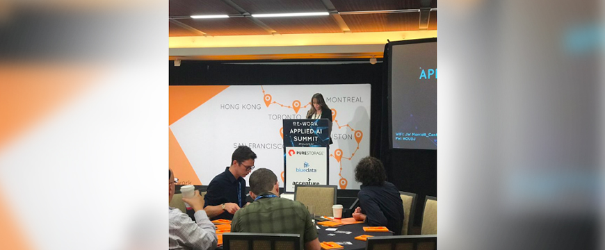 AMCL participated in Re Work; the largest AI conference worldwide.